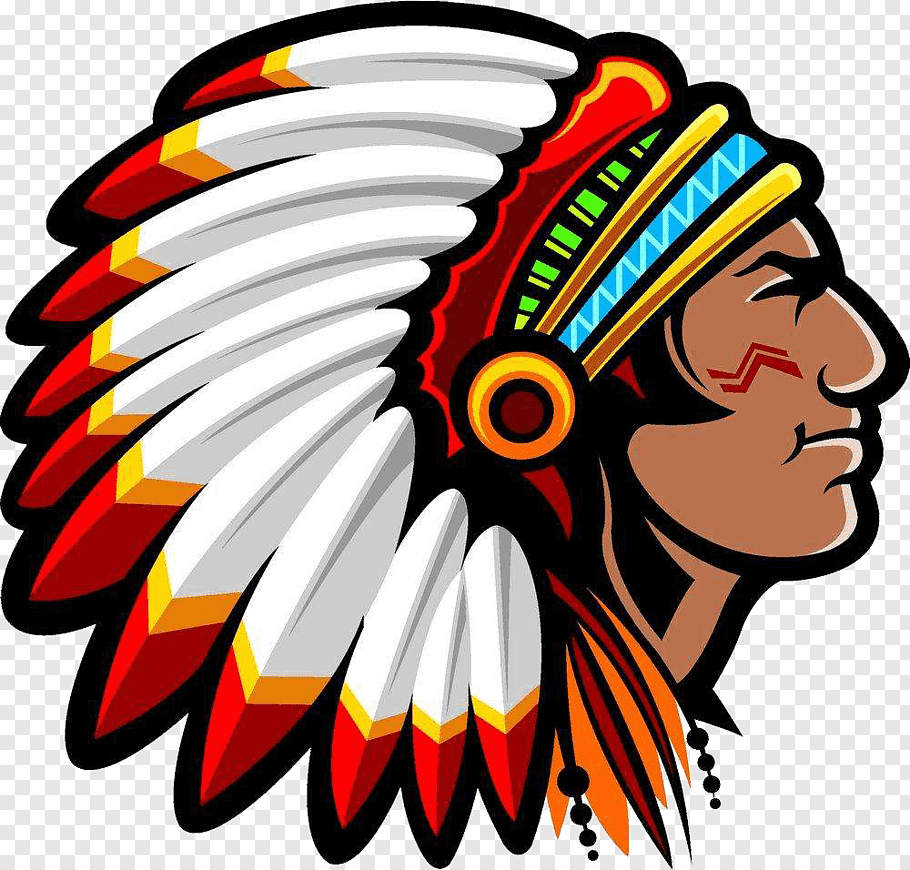 Native Americans logo, Native Americans in the United States.