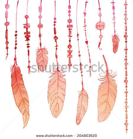 """Irina Vaneeva's """"Plumage"""" set on Shutterstock."""