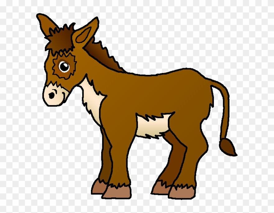 Jpg Christmas Donkey Clipart.