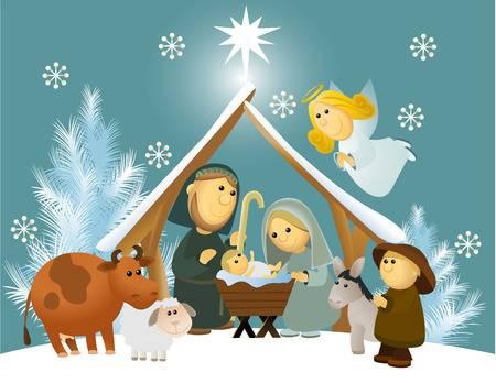 Nativity Scene Clipart Free Download Clip Art.