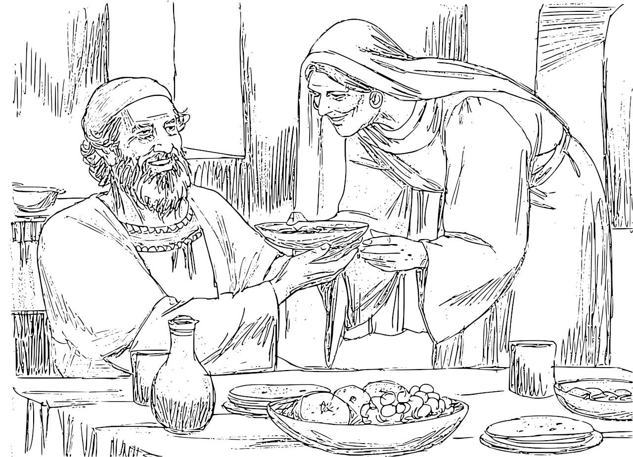 Free Elizabeth And Zechariah Coloring Pages, Download Free.
