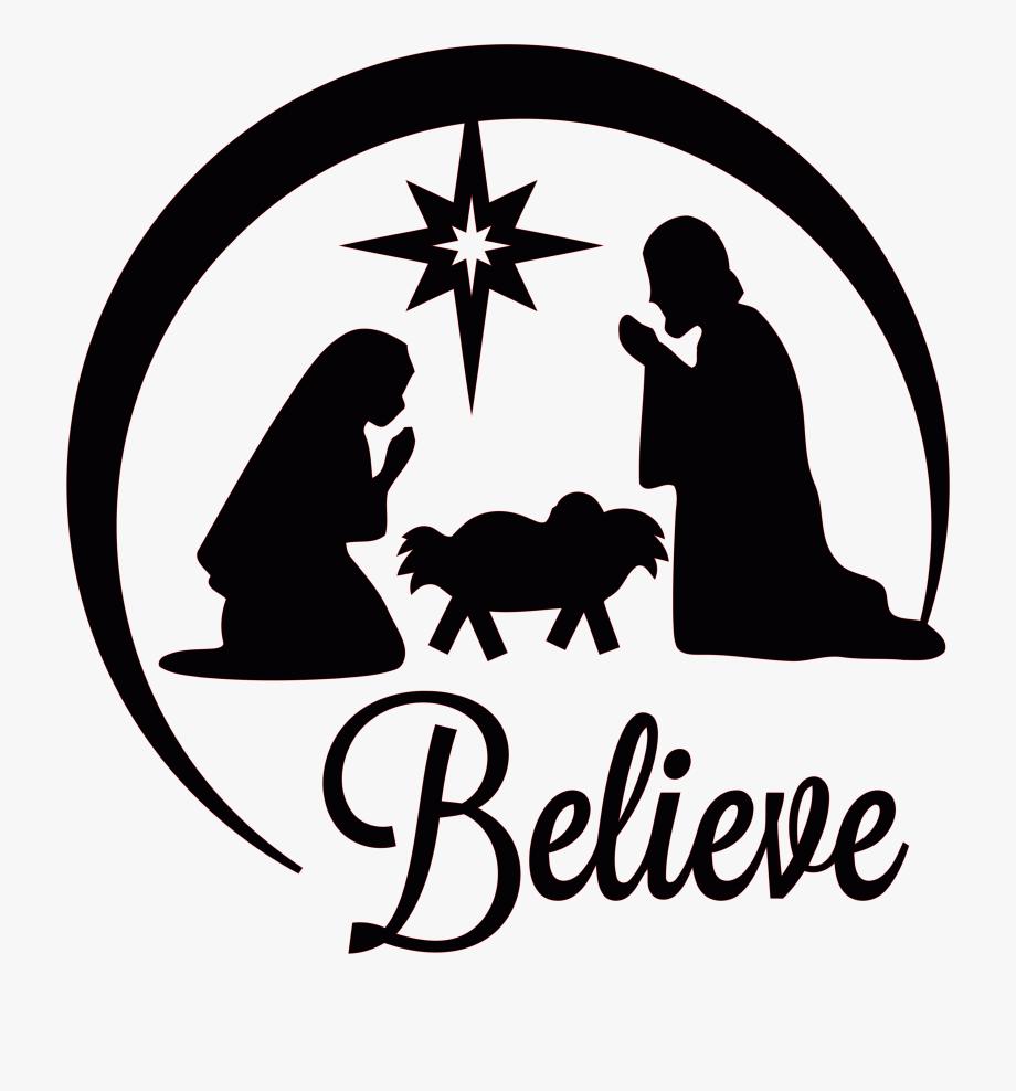 Manger Of Scene Jesus Nativity Church Christmas Clipart.