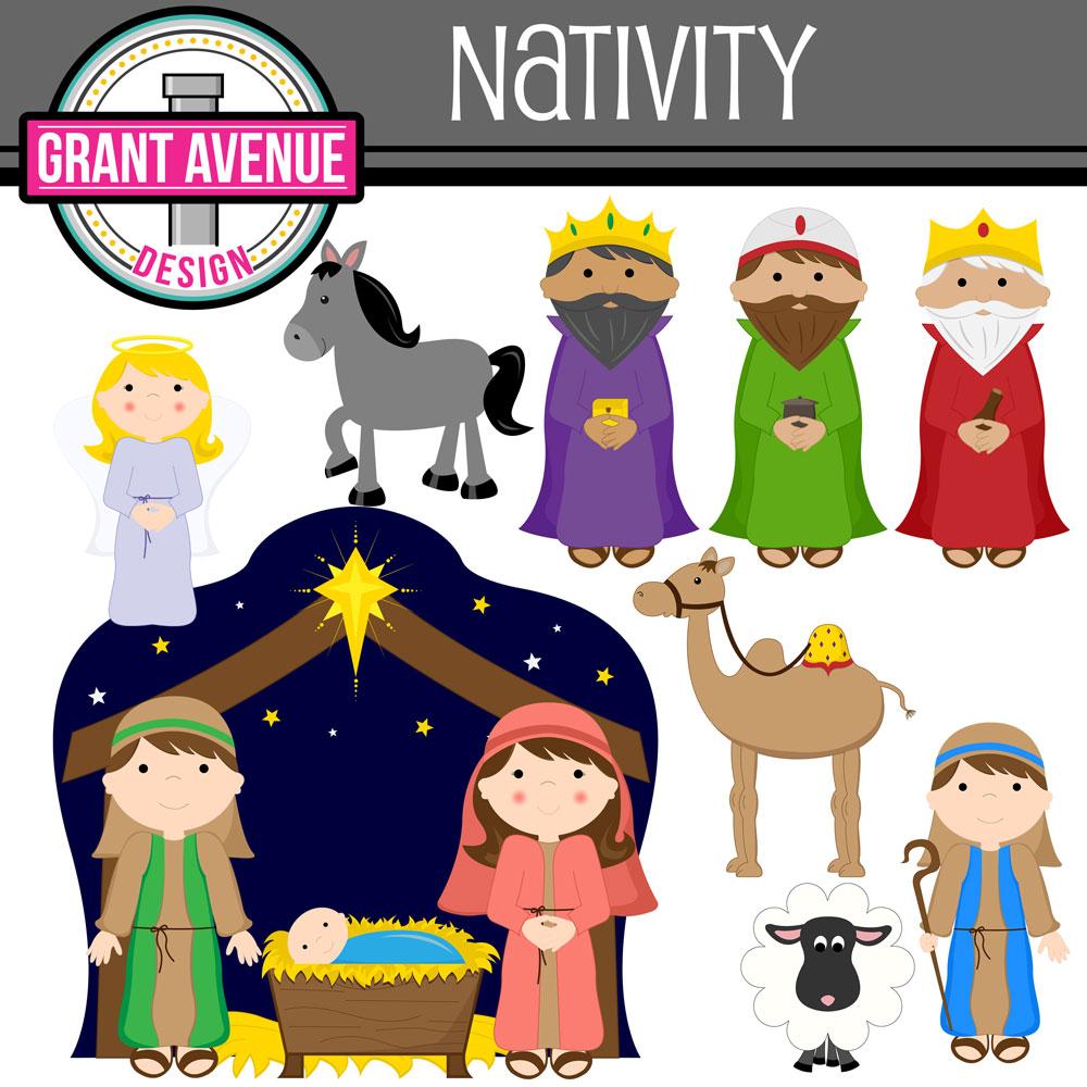 Free Cute Nativity Cliparts, Download Free Clip Art, Free.