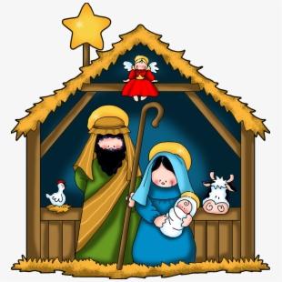 Free Nativity Scene Clipart Free Cliparts, Silhouettes.