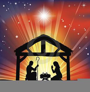 Nativity Scenes Clipart.