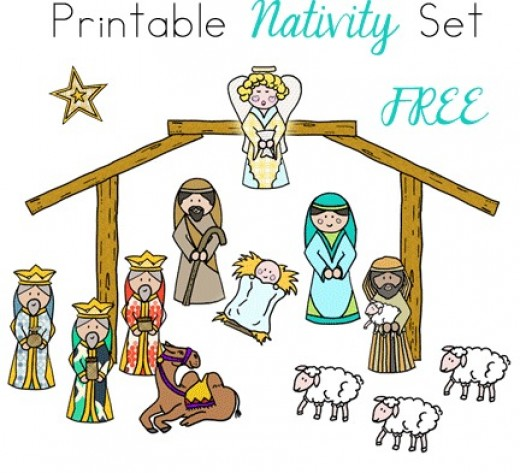 Nativity scene figures clipart 20 free Cliparts | Download ...