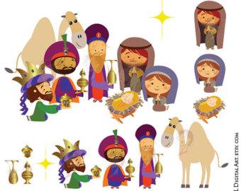 Nativity clip art.
