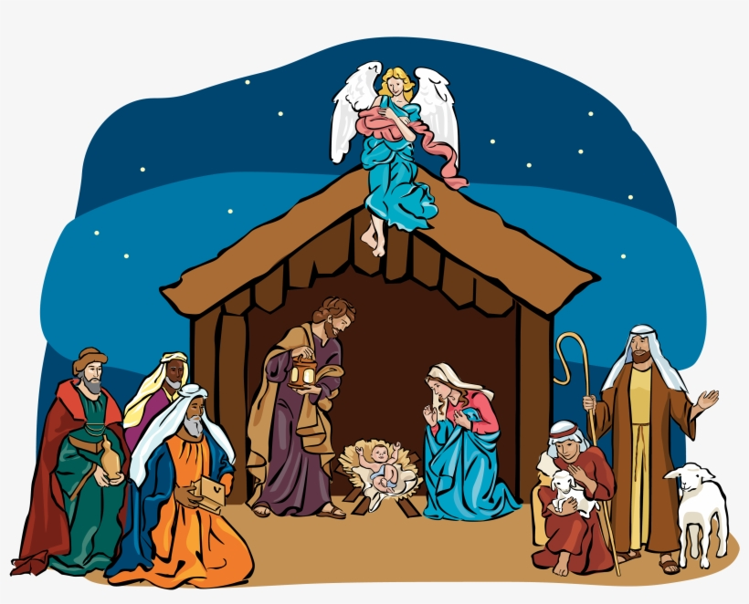 Nativity Scene Clipart.