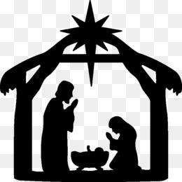 Nativity Scene PNG.