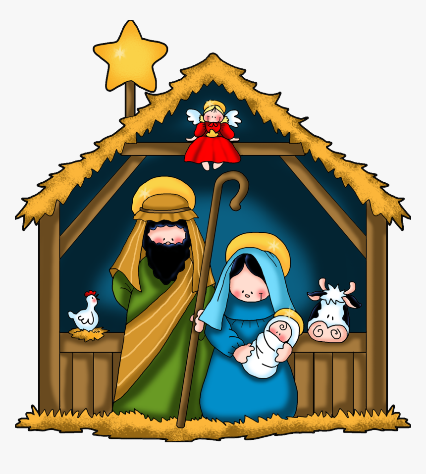 Nativity Scene Clipart New Calendar Template Site.