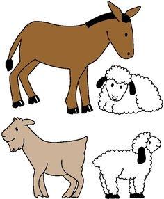 Free Nativity Animals Cliparts, Download Free Clip Art, Free.