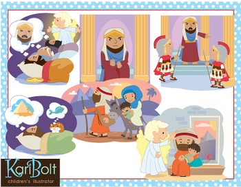 The Nativity Story Clip Art.