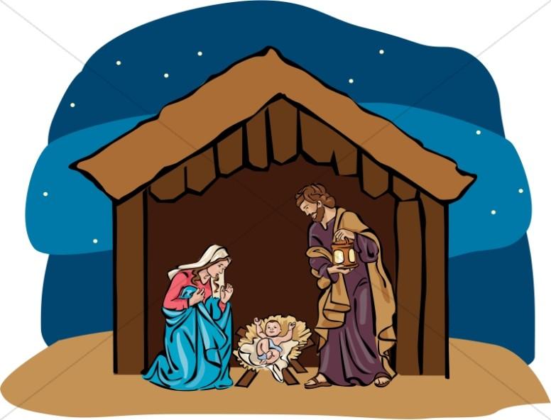 Nighttime Nativity Story.