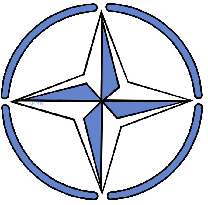Free World History Clip Art by Phillip Martin, NATO.