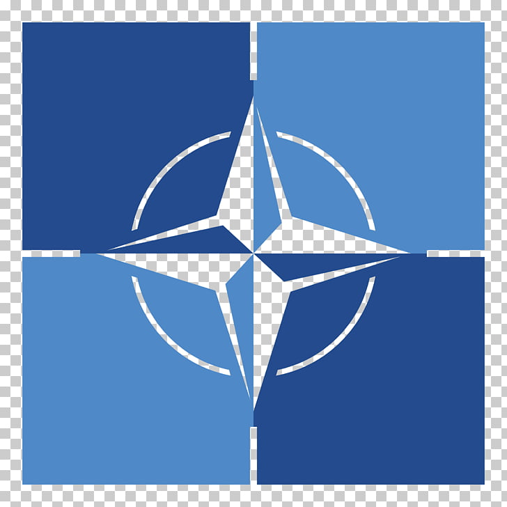 Flag of NATO Logo NATO Support and Procurement Agency, like.