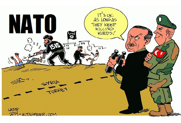 ANOTHER NATO SCAM: West Largely Silent About Erdogan's War on Kurds.