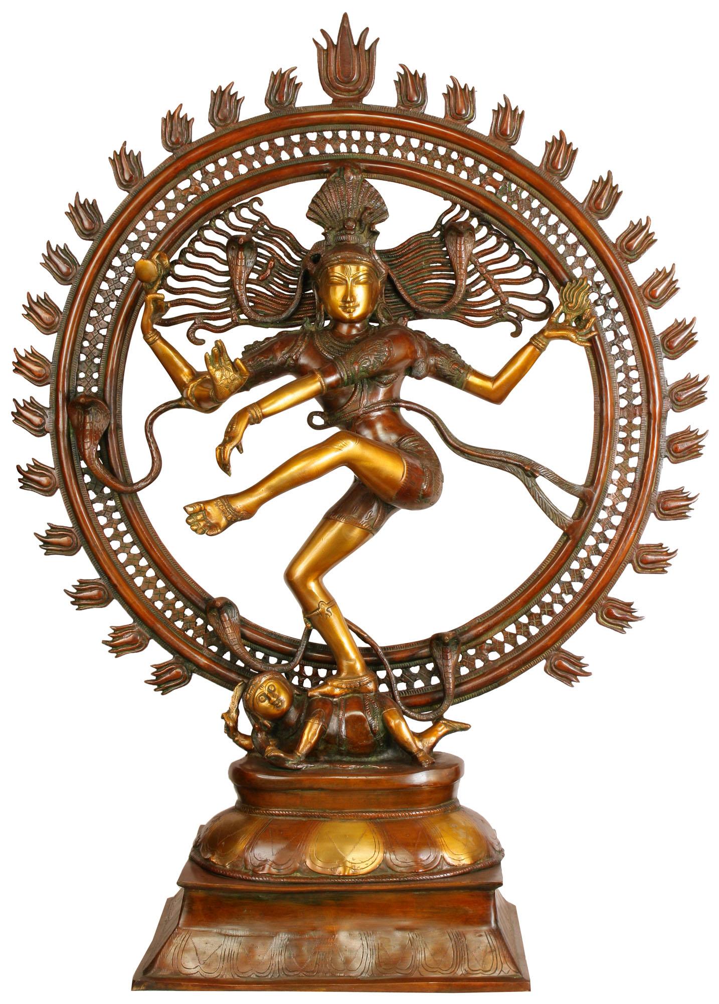Lord Shiva as Nataraja (Large Statue).