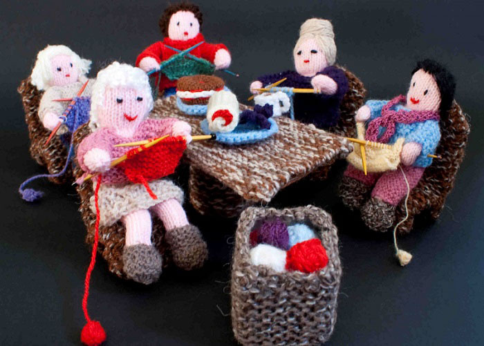 Knit and Natter Knitting Group.