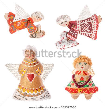 Angel Christmas Christmas Doll Stock Photos, Royalty.