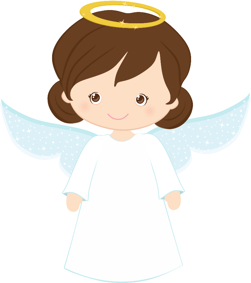 fun girl angel clipart #10