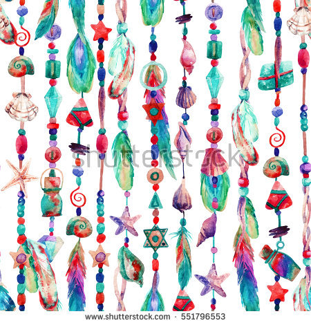 Beads From Natural Painted Stock Photos, Royalty.