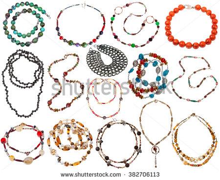 String Beads Stock Photos, Royalty.