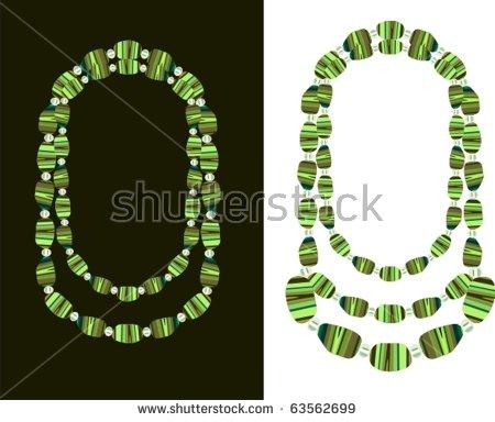 Black Bead Necklace Stock Photos, Royalty.