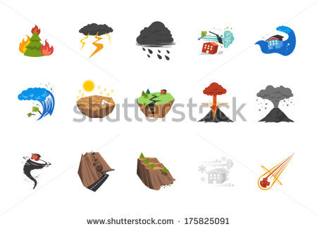 Natural Disaster Stock Photos, Royalty.