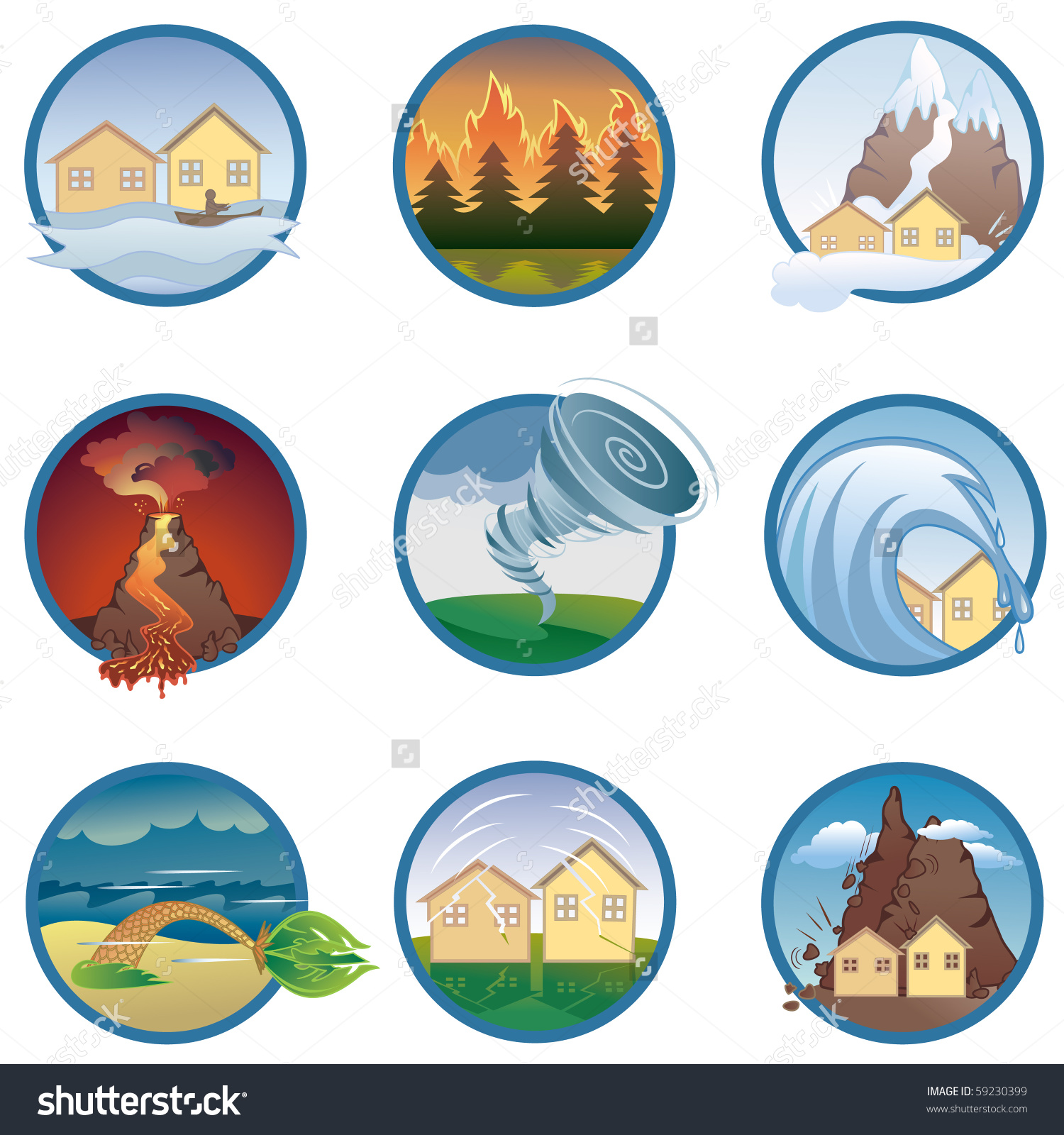 Clipart Natural Disasters.