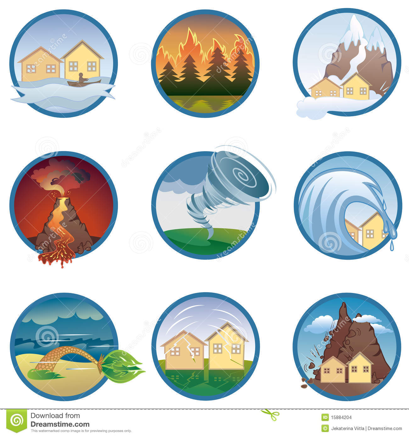 Natural disaster clipart tsunami.