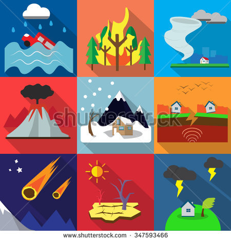 Natural disasters clipart 5 » Clipart Station.