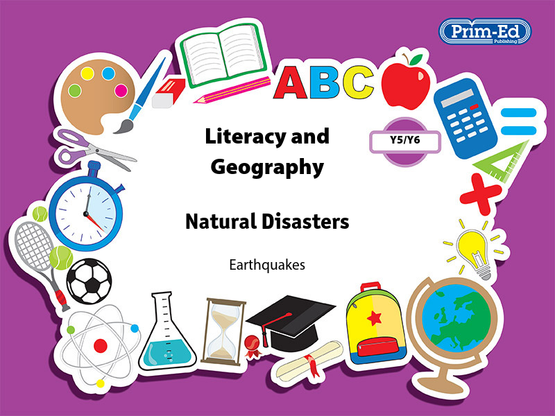 LITERACY AND GEOGRAPHY: NATURAL DISASTERS.