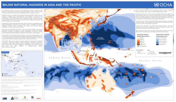Major Natural Hazards in Asia and the Pacific.