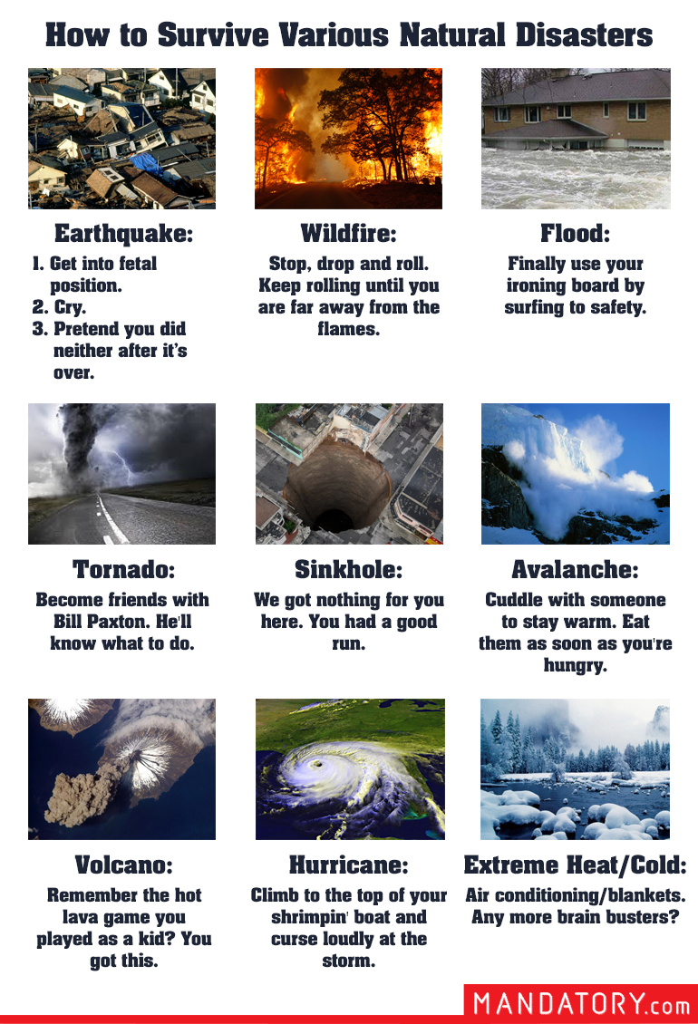PDF How to Survive a Natural Disaster.