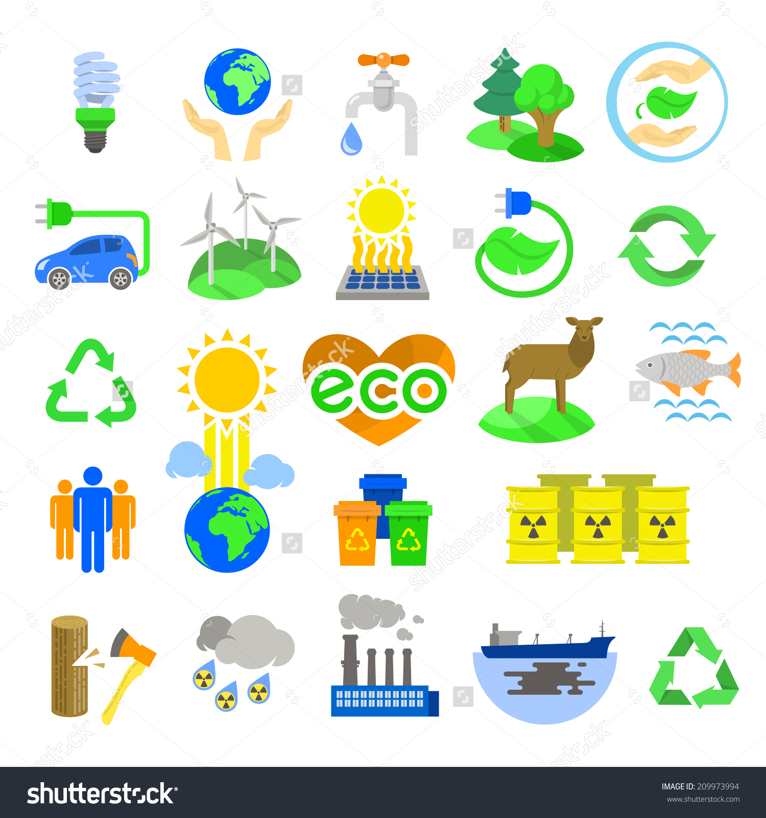 Clip Art for Natural Resources.