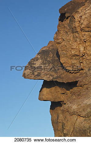 Stock Image of Face.