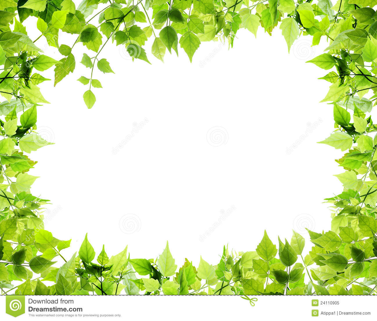 Nature frame clipart.