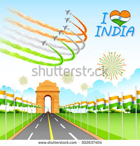 India Gate Delhi Stock Photos, Royalty.