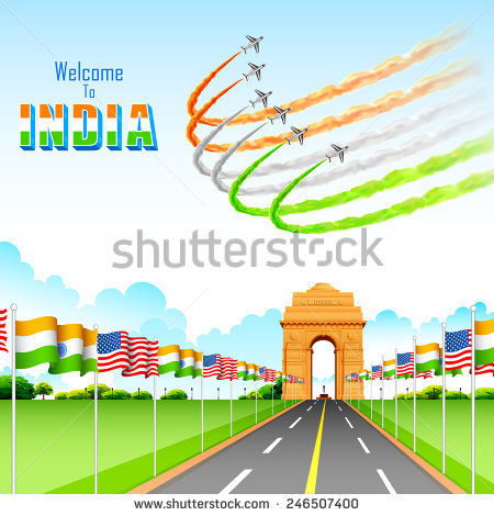 Indian Gate Stock Photos, Royalty.