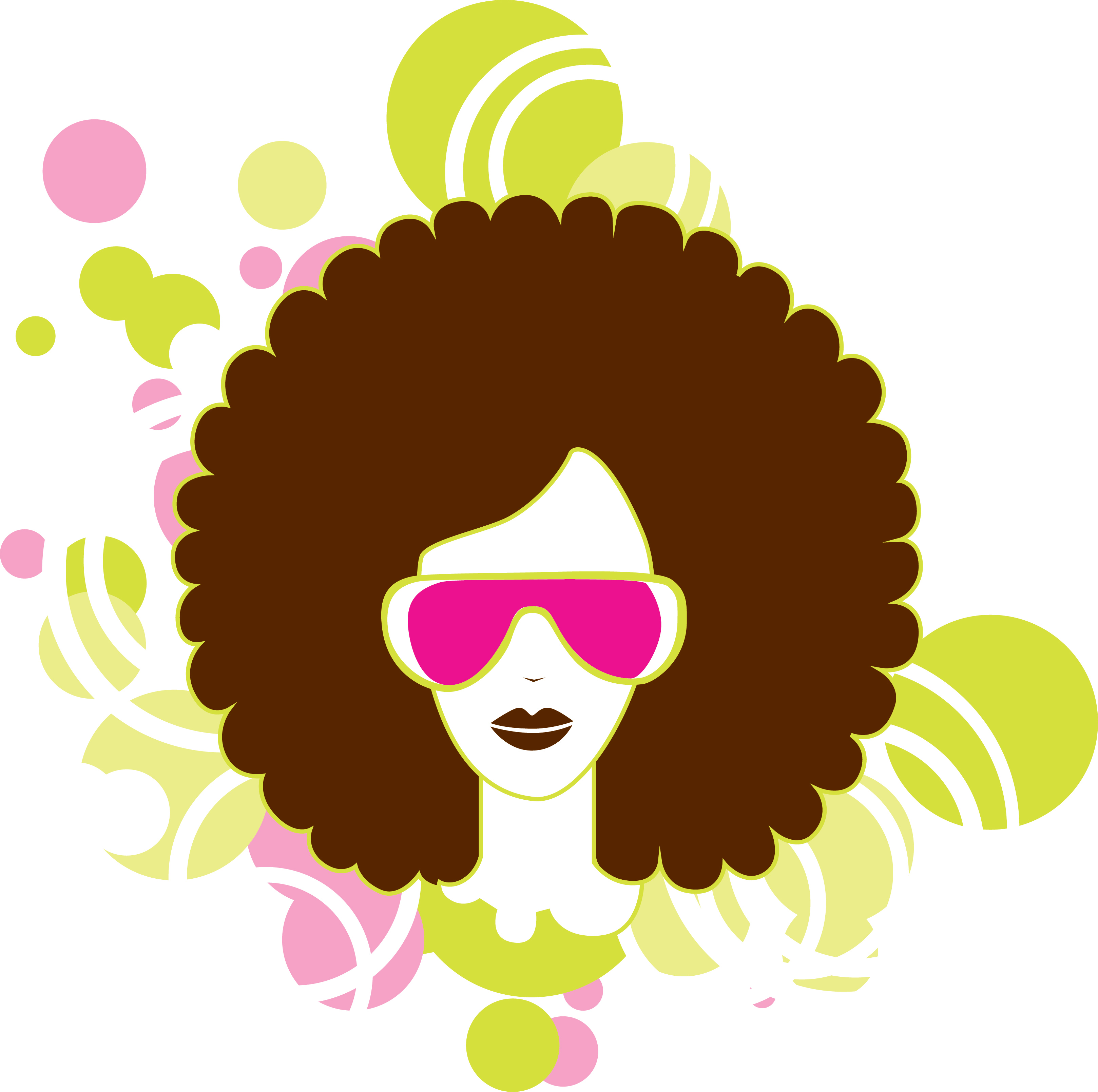 9+ Natural Hair Clipart.