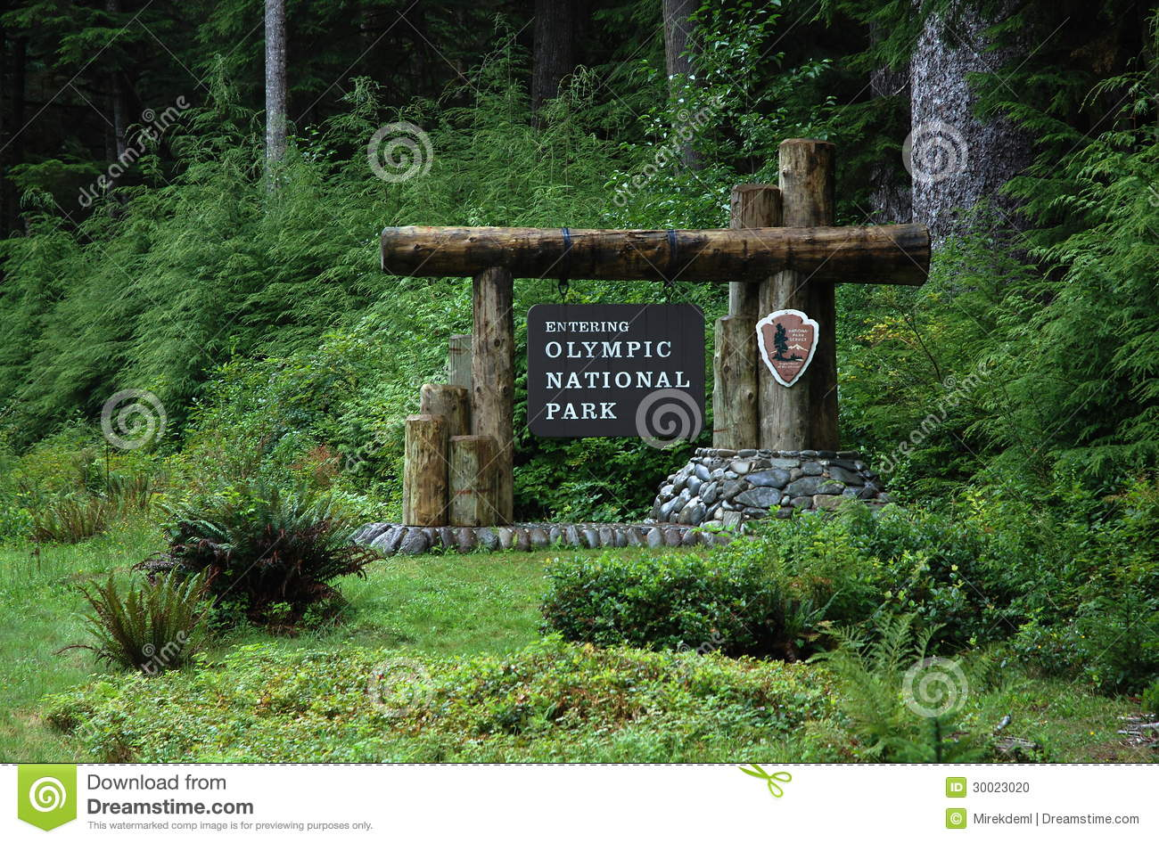 Olympic National Park, USA Stock Photo.