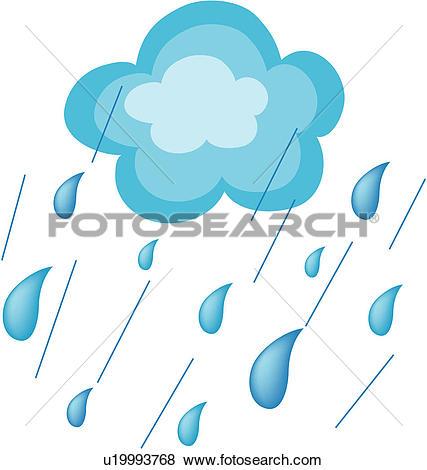 Clip Art of natural phenomenon, nature, ice, weather u18335707.