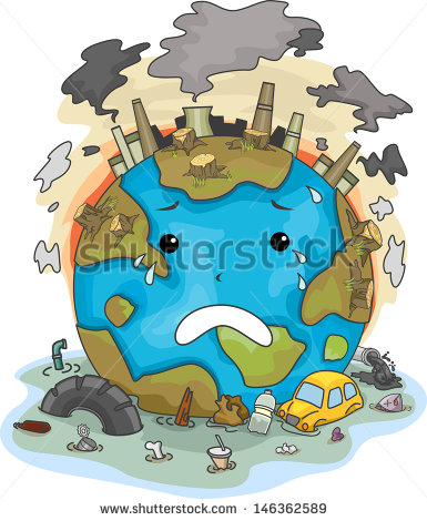 Pollution Stock Images, Royalty.