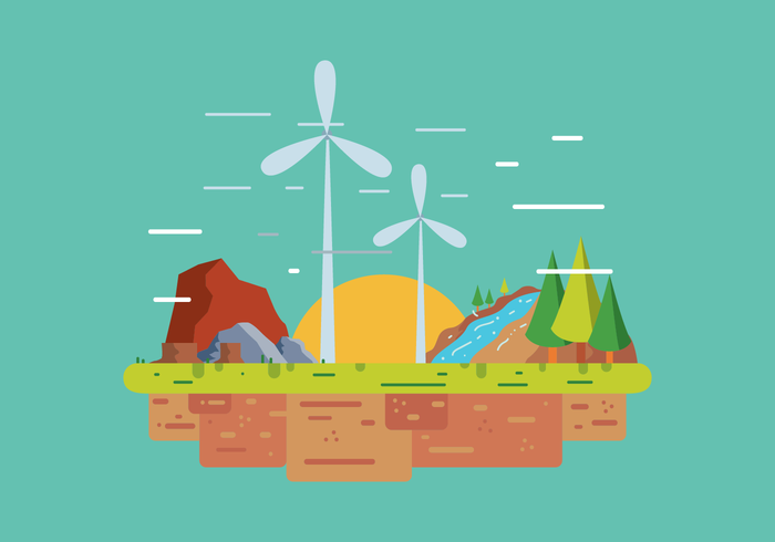 Natural Resources Vector.
