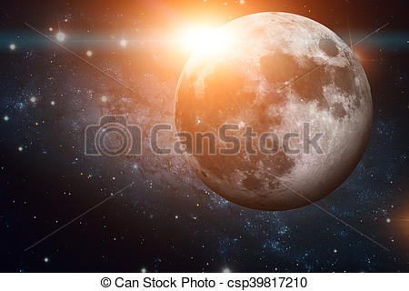 Clipart of Solar System.