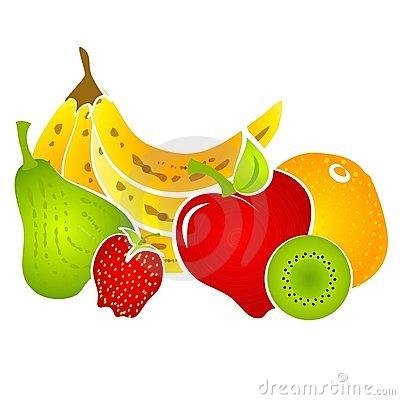Healty Food Fruit Clip Art Royalty Free Stock Photo.