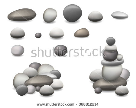 Nature stone supply clipart.