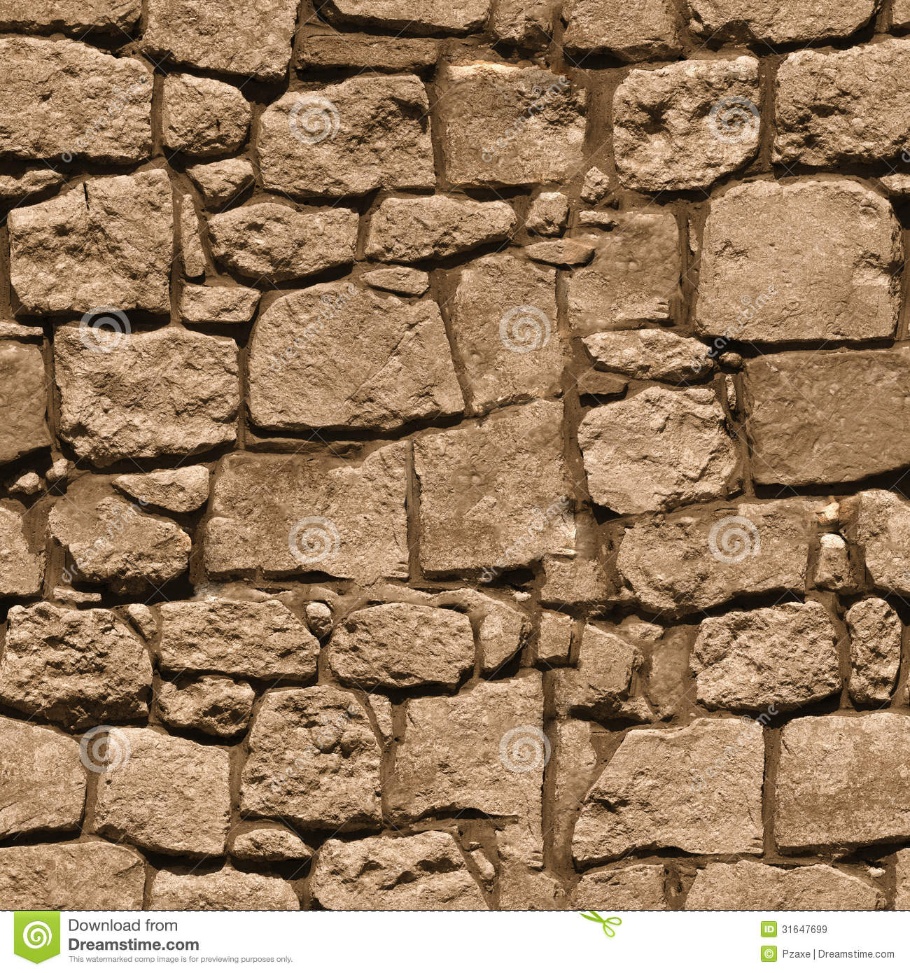 Textured stone clipart.