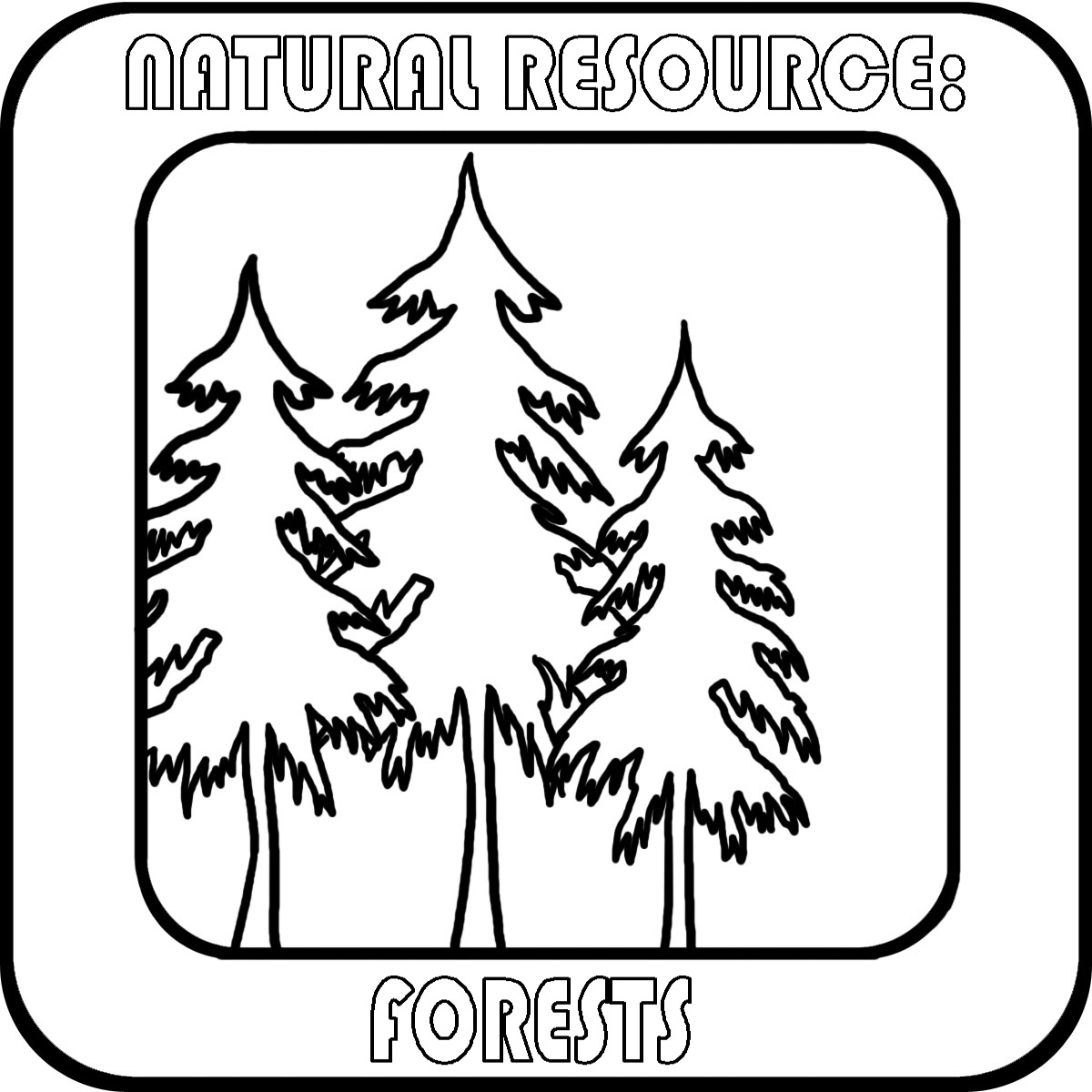 Natural Resources Clipart.