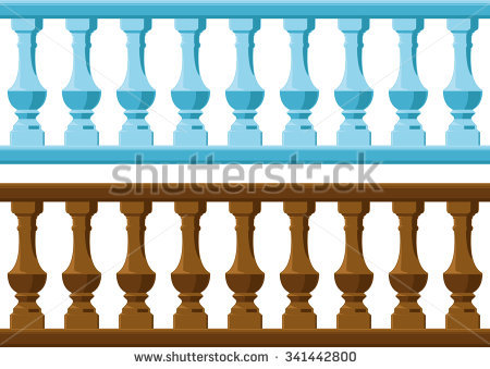 Wood Railing Stock Images, Royalty.